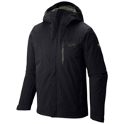 Mountain Hardwear Dragon's Back Mens Insulated Ski Jacket, Black, medium