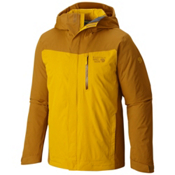 Mountain Hardwear Dragon's Back Mens Insulated Ski Jacket, Underbrush, medium