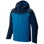 Mountain Hardwear Dragon's Back Mens Insulated Ski Jacket, Hardwear Navy, medium