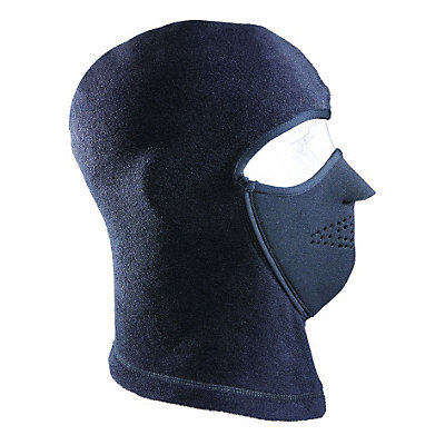 Seirus Magnemask Convertible Combo Balaclava, Black, viewer
