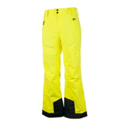 Obermeyer Quantum Mens Ski Pants, Lemon, medium