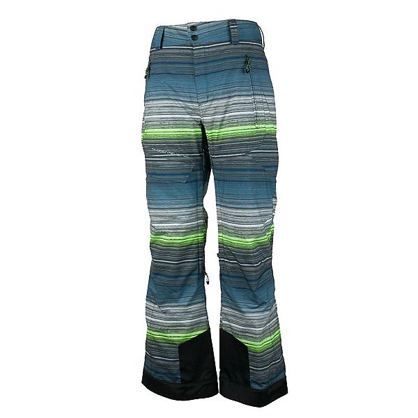 Obermeyer Quantum Mens Ski Pants, Jail Break Stripe, 600