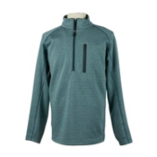 Obermeyer Swift Luxury Fleece Mens Mid Layer, Eclipse, medium