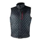 Obermeyer Precision Insulator Mens Vest, Ebony, medium