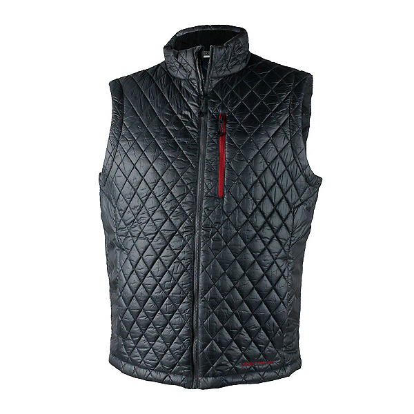 Obermeyer Precision Insulator Mens Vest, Ebony, 600
