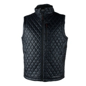 Obermeyer Precision Insulator Mens Vest, Black, medium