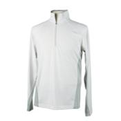 Obermeyer Flex 75 Mens Long Underwear Top, White, medium