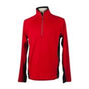 Obermeyer Flex 75 Mens Long Underwear Top, True Red, medium