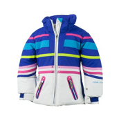 Obermeyer Sundown Toddler Girls Ski Jacket, White, medium