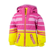 Obermeyer Sundown Toddler Girls Ski Jacket, Lemon, medium