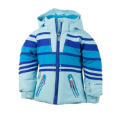 Obermeyer Sundown Toddler Girls Ski Jacket, Bluet, medium