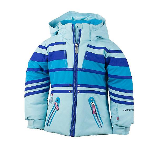 Obermeyer Sundown Toddler Girls Ski Jacket, Bluet, 600