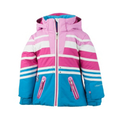 Obermeyer Sundown Toddler Girls Ski Jacket, Bluebird, medium