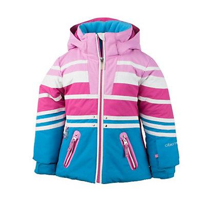 Obermeyer Sundown Toddler Girls Ski Jacket, White, viewer