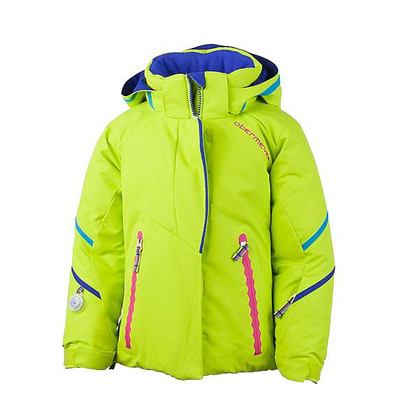 Obermeyer Brier Toddler Girls Ski Jacket, Lime, 600