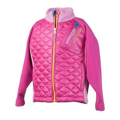 Obermeyer Supercross Hybrid Girls Jacket, Wild Pink, viewer