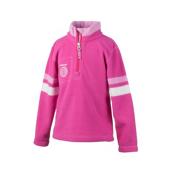 Obermeyer Ski-Daddle Fleece Kids Midlayer, Wild Pink, medium