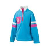 Obermeyer Ski-Daddle Fleece Kids Midlayer, Bluebird, medium