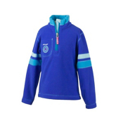 Obermeyer Ski-Daddle Fleece Kids Midlayer, Regal Blue, medium