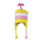 Obermeyer Jimmy Fleece Toddlers Hat, Cyber Yellow, medium