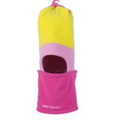 Obermeyer Covert Fleece Toddlers Hat, Cyber Yellow, medium