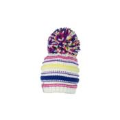 Obermeyer Cece Knit Hat Toddlers Hat, White, medium
