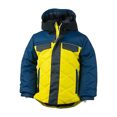 Obermeyer Wildcat Toddler Boys Ski Jacket, Ebony, viewer
