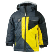 Obermeyer Ambush Toddler Boys Ski Jacket, Cyber Yellow, medium