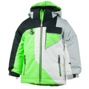 Obermeyer Ambush Toddler Boys Ski Jacket, Glowstick, medium