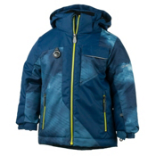 Obermeyer Ambush Toddler Boys Ski Jacket, Squall Print, medium