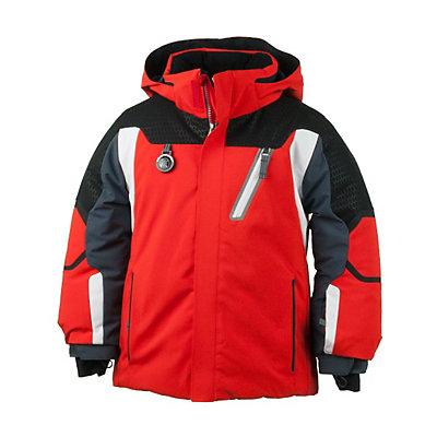 Obermeyer Raider Toddler Ski Jacket, Lava, viewer