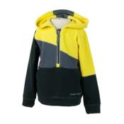 Obermeyer Cruiser Fleece Top Hoody Kids Midlayer, Cyber Yellow, medium