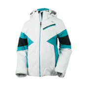 Obermeyer Lexi Girls Ski Jacket, Mediterranean, medium