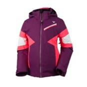 Obermeyer Lexi Girls Ski Jacket, Currant, medium