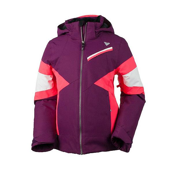 Obermeyer Lexi Girls Ski Jacket, Currant, 600