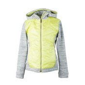 Obermeyer Sasha Hybrid Girls Jacket, Daffodil, medium