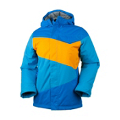 Obermeyer Journey Boys Ski Jacket, Sonic Blue, medium