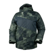 Obermeyer Journey Boys Ski Jacket, Storm Camo, medium