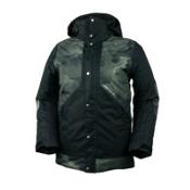 Obermeyer Cirque Boys Ski Jacket, Storm Camo, medium