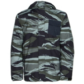 Quiksilver Mission 3 in 1 Mens Insulated Snowboard Jacket, Alaskan Camo Military, medium