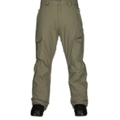 Quiksilver Mission Insulated Mens Snowboard Pants, Dusty Olive, medium