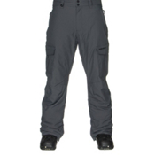 Quiksilver Mission Insulated Mens Snowboard Pants, Iron Gate, medium