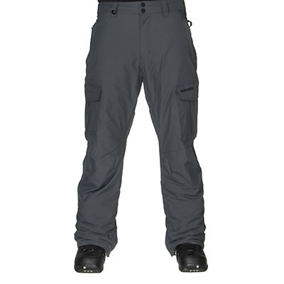 Quiksilver Mission Insulated Mens Snowboard Pants, Dusty Olive, viewer