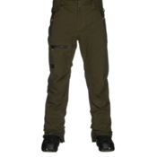 Quiksilver Lincoln Mens Snowboard Pants, Forest Night, medium