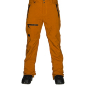 Quiksilver Lincoln Mens Snowboard Pants, Pumpkin Spice, medium