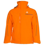 Salomon Brilliant Mens Insulated Ski Jacket, Clementine X, medium