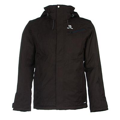 Salomon Fantasy Mens Insulated Ski Jacket, Black, viewer