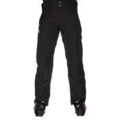 Salomon Fantasy Mens Ski Pants, Black, medium