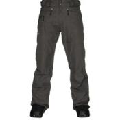 Salomon Fantasy Mens Ski Pants, Galet Grey, medium