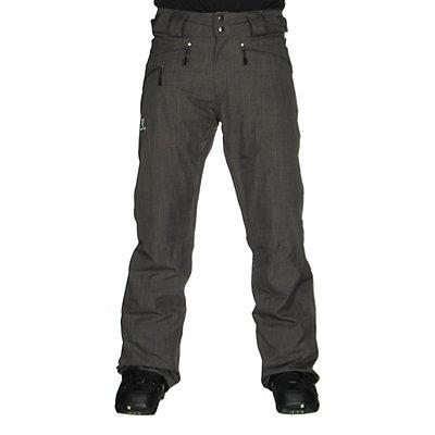 Salomon Fantasy Mens Ski Pants, Galet Grey, viewer
